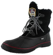 womens boots size 9 ebay pajar garland s faux fur trim boots waterproof ebay