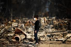 California Wildfire Evacuation Plan by North Bay Wildfires Day 7 Evacuees Question Officials About