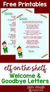 Printable Halloween Stationary Elf On The Shelf 9 Page Printable Pack