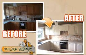 respray kitchen cabinets kitchen respray colour