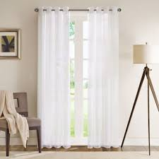 sheer window treatments buy sheer window panels from bed bath beyond