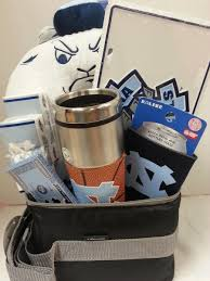 carolina gift baskets unc collegiate of carolina gift basket s