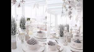 Winter Wonderland Centerpieces Ideas For Christmas Winter Wonderland Decorations Youtube