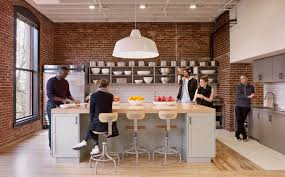 Office Kitchen Design Spaces We Love Airbnb U0027s Portland Offices