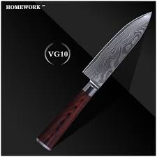 Best Steel For Kitchen Knives Damascus Pattern Knives 6 Inch Chef Knife High Quality Damascus