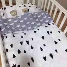 3 pcs set nordic style children baby cotton bedding set