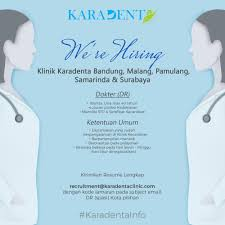 Resume Clinic Karadenta Clinic Linkedin