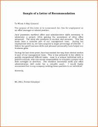 8 examples of letters of recommendation budget template letter