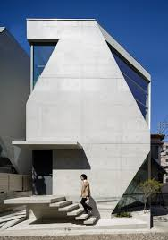 atelier tekuto u0027s exposed concrete home in tokyo displays a