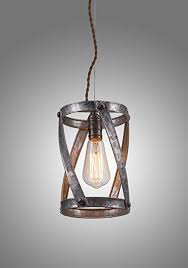 Galvanized Pendant Light Lightlady Studio Farmhouse Decor Industrial Pendant Lighting