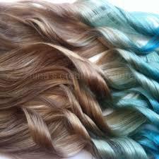 mermaid hair extensions shop mermaid ombre hair on wanelo