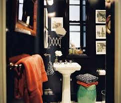 Blue And Green Bathroom Ideas Bathroom Design Ideas And More by Feirstein U0026 Heckman Lonny Mag Small Black Orange Green Bathroom