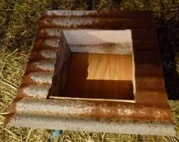 corrugated tabletop planter box
