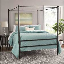 Black Canopy Bed Canopy Bed Ebay