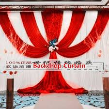 wedding backdrop to buy impressive swag curtains decor with aliexpress buy wedding