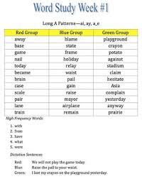 3rd grade word study by the teaching duo teachers pay teachers