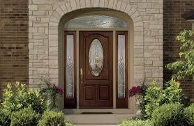 Fiberglass Exterior Doors With Sidelights Awesome Front Door With Sidelights Fiberglass Entry Doors