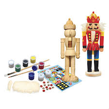 hallie classic wooden nutcracker kit educational toys specialty