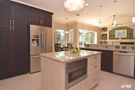 backsplash kitchens with different color cabinets painting a two