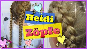 Frisuren Selber Machen Bauernzopf by Heidi Zöpfe Nach Außen Geflochten Holländische Zöpfe