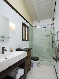 Houzz Bathrooms Modern by Photos Hgtv Contemporary Master Bathroom With Sleek Vanity And
