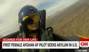 Seeking Pilot Niloofar Rahmani Afghan Air Pilot On Seeking U S