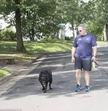 Sean Spicer Walks His Dog In His Washington Neighborhood Daily