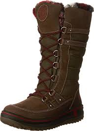 womens brown leather boots canada amazon com santana canada s boot shoes