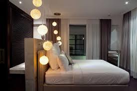 Hanging Pendant Lights Bedroom Vacation Villa Casa By Bo Design Located In Bali