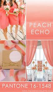 Color Palette Pantone Pantone Peach Echo 16 1548 The Perfect Palette