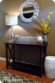 Beautiful Decorating Ideas For Entryway Tables Interior