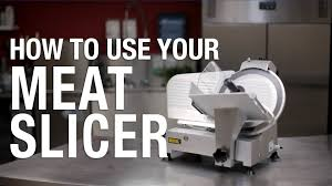 Nisbets by How To Use Your Meat Slicer Nisbets Youtube