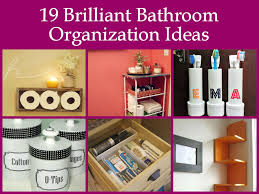 bathroom organizers ideas 19 brilliant bathroom organization ideas jpg