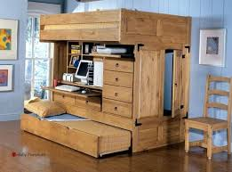 Bunk Beds With Desk Underneath Plans by Desk Full Size Loft Bed With Desk Underneath Plans Resemblance