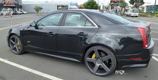 2007 cadillac cts wheels cadillac cts v niche milan m134 wheels black machined with