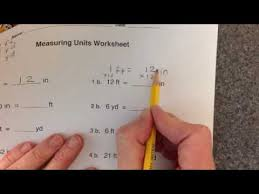 measuring units worksheet measuring units worksheet