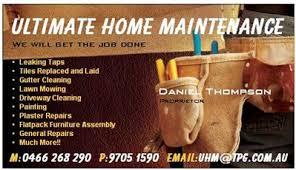 Laid Business Cards Handyman Services Business Cards Thebridgesummit Co