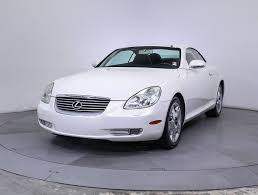 lexus is for sale miami used 2005 lexus sc 430 convertible for sale in miami fl 85456