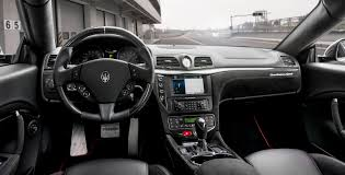 maserati quattroporte interior black maserati reminds us the granturismo is still around with this
