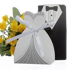Box Wedding Favors by Cnomg 100pcs Wedding Favor Dress Tuxedo