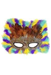 mardi gras feather masks venetian style mardi gras feather masks are ideal for proms and