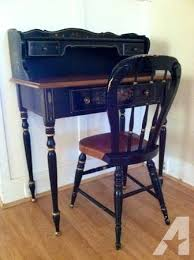 ethan allen desk chair rare antique ethan allen writing desk chair for sale in mountain