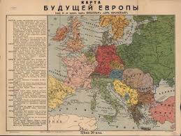 Europe After Ww1 Map by World War I Propaganda Maps In The National Library Of Russia