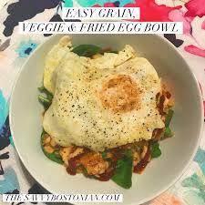 cuisine flash but recipe grain veggie fried egg bowl the savvybostonian