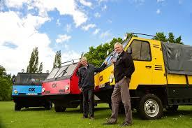 mclaren truck the world u0027s first u0027flat pack u0027 truck revealed set to bring aid to
