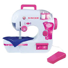 singer battery operated zigzag chain stitch sewing machine