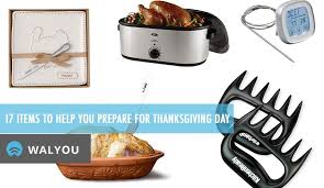17 items to help you prepare for thanksgiving day walyou