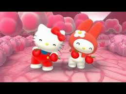 kitty melody singing color red