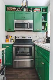 kitchen cabinet paint colors green 80 cool kitchen cabinet paint color ideas noted list