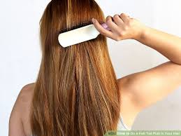 how long does your hair have to be for a comb over fade hairstyle 3 ways to do a fish tail plait in your hair wikihow